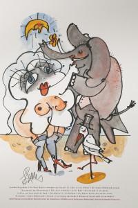 Tante Qualle und der Elefant