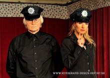 Zunge-Polizisten