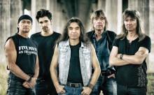 Five men on the Rocks